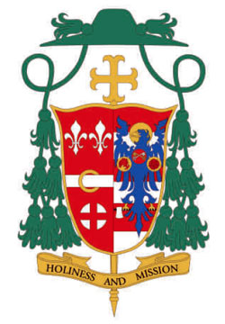 Coat of Arms of Bishop John O. Barres
